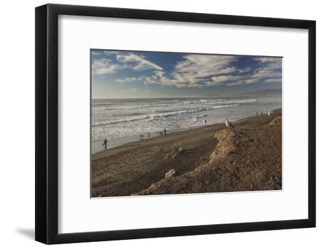 Ocean Beach Afternoon-Henri Silberman-Framed Art Print