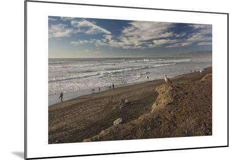 Ocean Beach Afternoon-Henri Silberman-Mounted Photographic Print