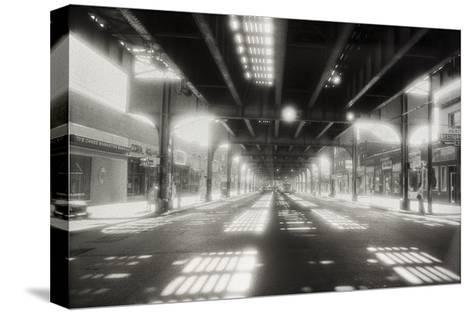 Under Roosevelt Avenue, Queens Nyc-Henri Silberman-Stretched Canvas Print