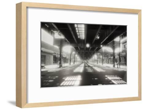Under Roosevelt Avenue, Queens Nyc-Henri Silberman-Framed Art Print