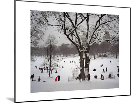 Prospect Park in Snow-Henri Silberman-Mounted Photographic Print