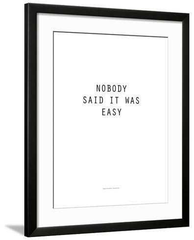 Diplomatic Note - White Version-Philippe Hugonnard-Framed Art Print