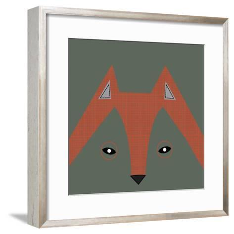Fox Face--Framed Art Print