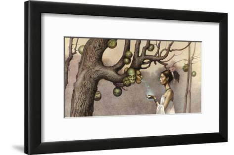 Event Illustrates the Conception of the Hero Twins-John Jude Palencar-Framed Art Print