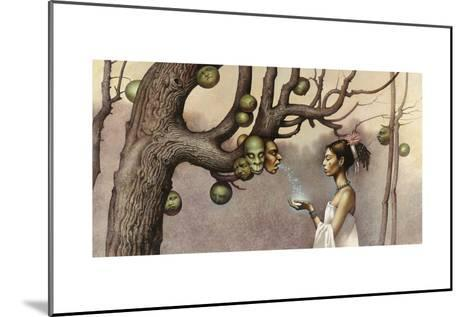 Event Illustrates the Conception of the Hero Twins-John Jude Palencar-Mounted Giclee Print