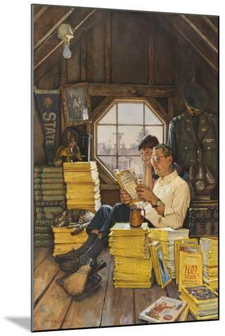 James Gurney Illustrates a Promotion of the One Hundred Years Index-James M. Gurney-Mounted Giclee Print