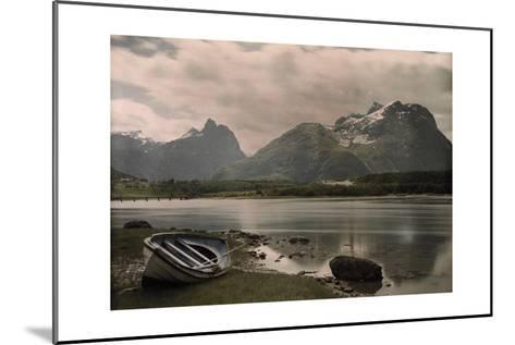 A View of Troldtinder Mountain-Gustav Heurlin-Mounted Photographic Print