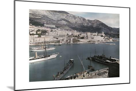 A View of Monte Carlo from the Rock of Monaco-Hans Hildenbrand-Mounted Photographic Print