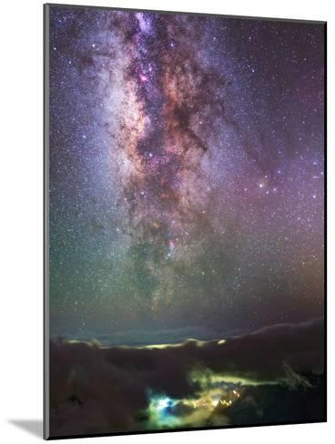 The Milky Way Towards the Bright Central Bulge in the Constellations Scorpius and Sagittarius-Babak Tafreshi-Mounted Photographic Print