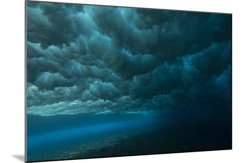 Underwater View of Churning Surf-Andy Bardon-Mounted Photographic Print
