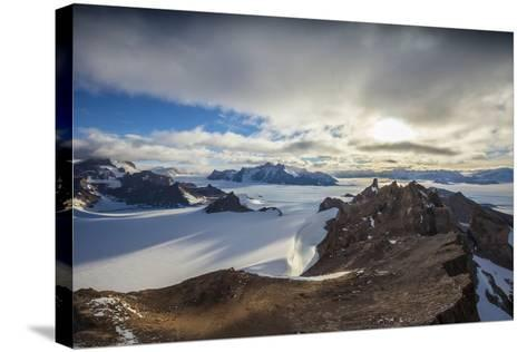 The Wohlthat Mountains in Antarctica's Queen Maud Land-Cory Richards-Stretched Canvas Print