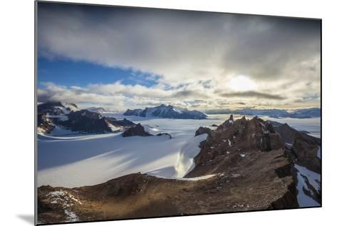 The Wohlthat Mountains in Antarctica's Queen Maud Land-Cory Richards-Mounted Photographic Print