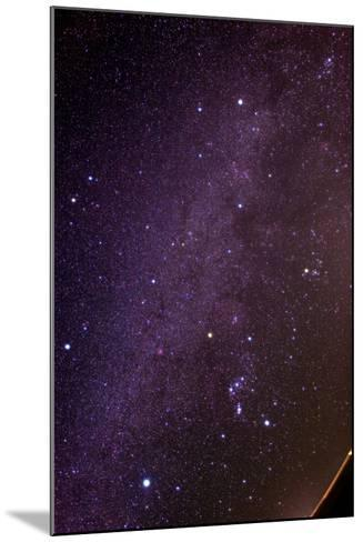 The Milky Way and Winter Stars in the Northern Hemisphere, Sirius at Lower Left, Orion at Lower Rig-Babak Tafreshi-Mounted Photographic Print