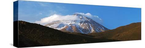 Mount Damavand Is a Live Volcano and the Highest Peak in the Middle East-Babak Tafreshi-Stretched Canvas Print