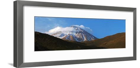 Mount Damavand Is a Live Volcano and the Highest Peak in the Middle East-Babak Tafreshi-Framed Art Print