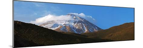 Mount Damavand Is a Live Volcano and the Highest Peak in the Middle East-Babak Tafreshi-Mounted Photographic Print