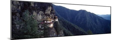 An Ancient Buddhist Monastery Perched on a Sheer Cliff Face in the Himalaya-Jason Edwards-Mounted Photographic Print