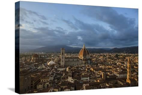 The Dome of the Cathedral of Santa Maria Del Fiore in Florence-Dave Yoder-Stretched Canvas Print