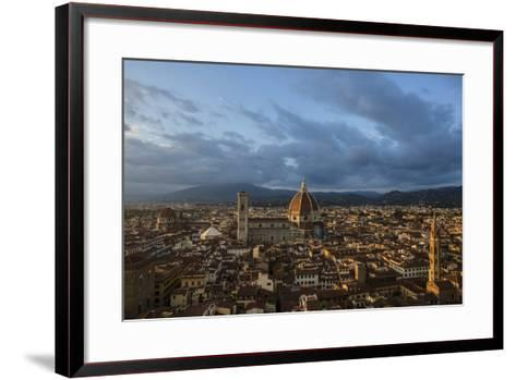 The Dome of the Cathedral of Santa Maria Del Fiore in Florence-Dave Yoder-Framed Art Print