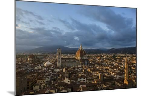 The Dome of the Cathedral of Santa Maria Del Fiore in Florence-Dave Yoder-Mounted Photographic Print