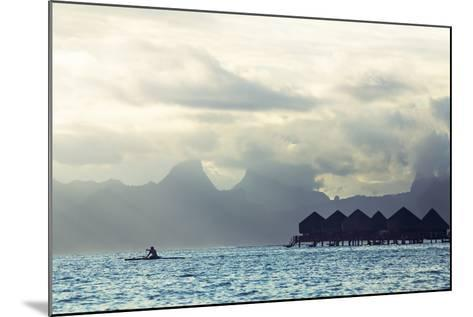 Tahiti Island, with Moorea in the Background-Andy Bardon-Mounted Photographic Print