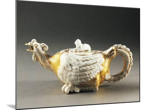Zoomorphic Teapot, Porcelain, Germany--Mounted Photographic Print