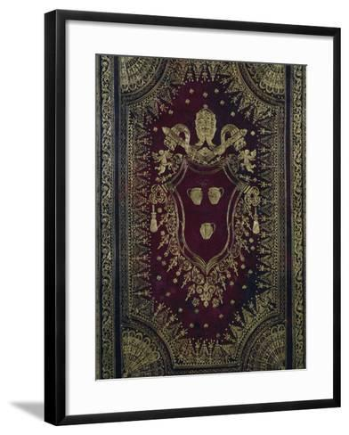 Moroccan Red Bookbinding-Bartolomeo Ammannati-Framed Art Print