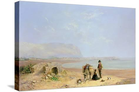On the Beach-Charles Camille Saint-Saens-Stretched Canvas Print