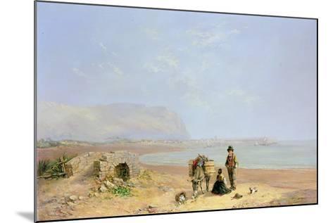 On the Beach-Charles Camille Saint-Saens-Mounted Giclee Print