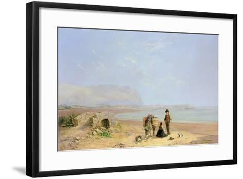 On the Beach-Charles Camille Saint-Saens-Framed Art Print