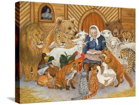 Bedtime Story on the Ark, 1994-Domenico Fetti or Feti-Stretched Canvas Print