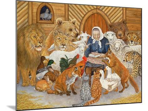 Bedtime Story on the Ark, 1994-Domenico Fetti or Feti-Mounted Giclee Print
