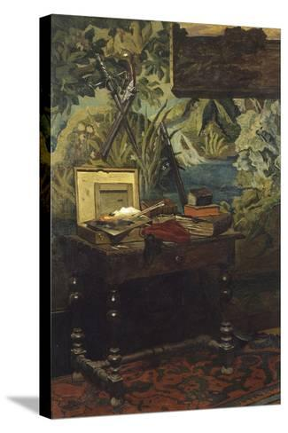 A Corner of the Studio, 1861-Claude Monet-Stretched Canvas Print