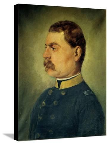 The Officer-Antonio Campi-Stretched Canvas Print