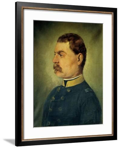 The Officer-Antonio Campi-Framed Art Print