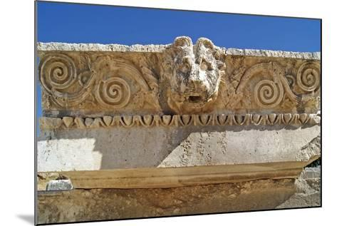 Head of a Lion, Letoon, Turkey--Mounted Photographic Print