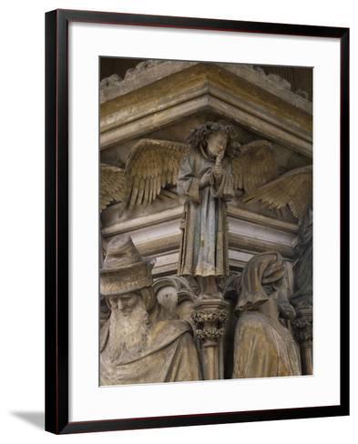 Detail from 15th Century Sculptures-Clement Massier-Framed Art Print