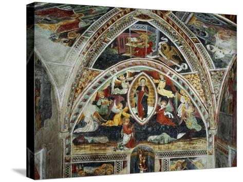 Virgin and Saints-Giovanni Baleison-Stretched Canvas Print