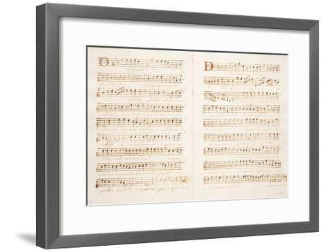 Madrigals 1606-Giulio Licinio-Framed Art Print