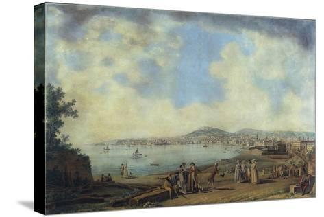 Naples from Magdalene Bridge, 1791-Giovanni Battista Pittoni the Younger-Stretched Canvas Print