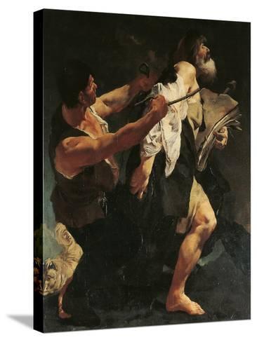 Martyrdom of St James-Giovanni Battista Quadrone-Stretched Canvas Print
