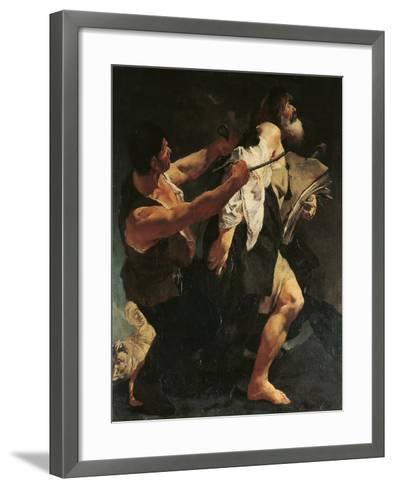 Martyrdom of St James-Giovanni Battista Quadrone-Framed Art Print