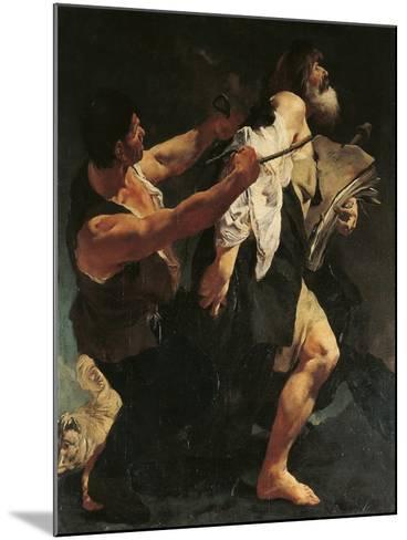 Martyrdom of St James-Giovanni Battista Quadrone-Mounted Giclee Print