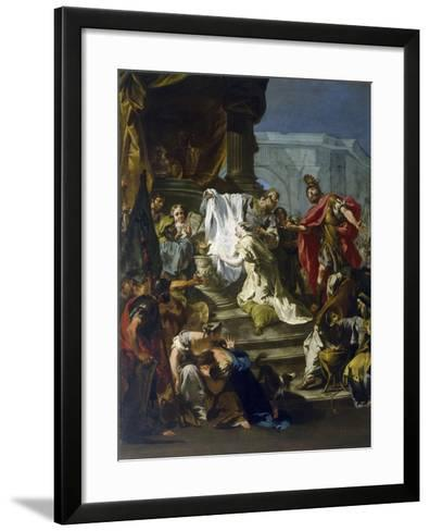 Sacrifice of Jephthah's Daughter-Giovanni Battista Riccardi-Framed Art Print