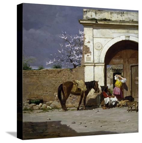 Stop in Sardinia-Giovanni Battista Tiepolo-Stretched Canvas Print