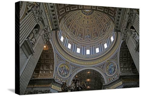 The Dome: Mosiacs-Giuseppe Collignon-Stretched Canvas Print