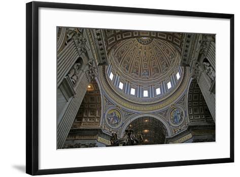 The Dome: Mosiacs-Giuseppe Collignon-Framed Art Print