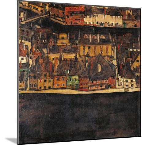 Austria, Vienna, Small City II or the Small City III, 1912-13-Eleuterio Pagliano-Mounted Giclee Print