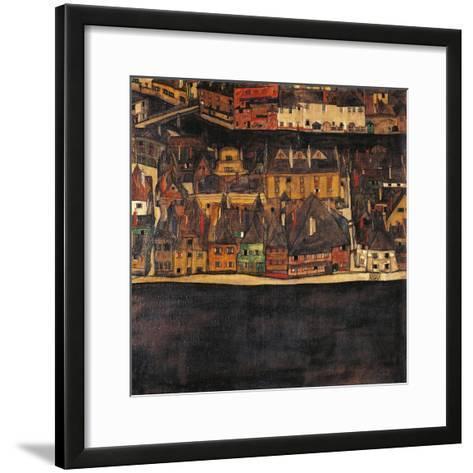 Austria, Vienna, Small City II or the Small City III, 1912-13-Eleuterio Pagliano-Framed Art Print