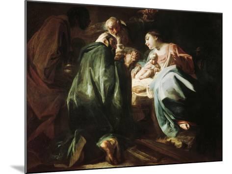 Adoration of the Magi-Federico Faruffini-Mounted Giclee Print